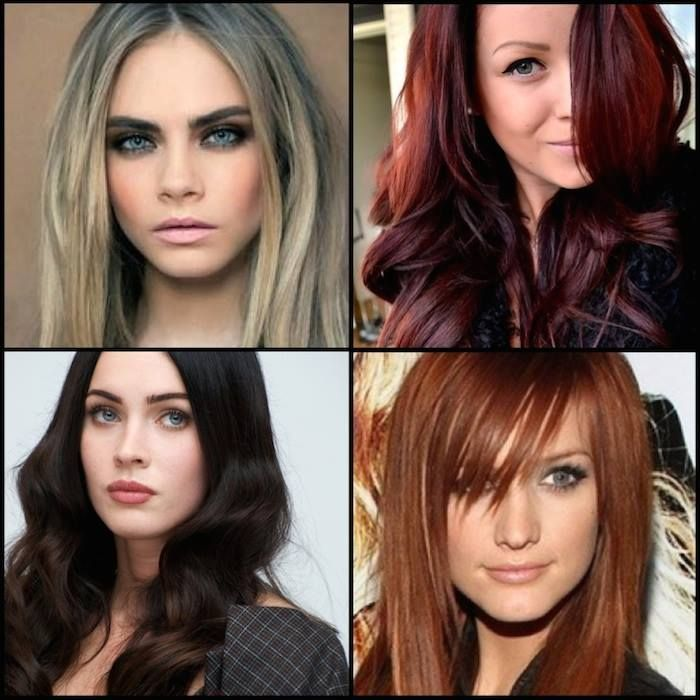 Best Color Highlights Ombre Bayalage Trends Images On - Green trends change of hairstyle