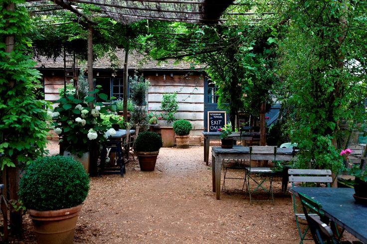 Petersham Nurseries Outdoor Rooms And Spaces