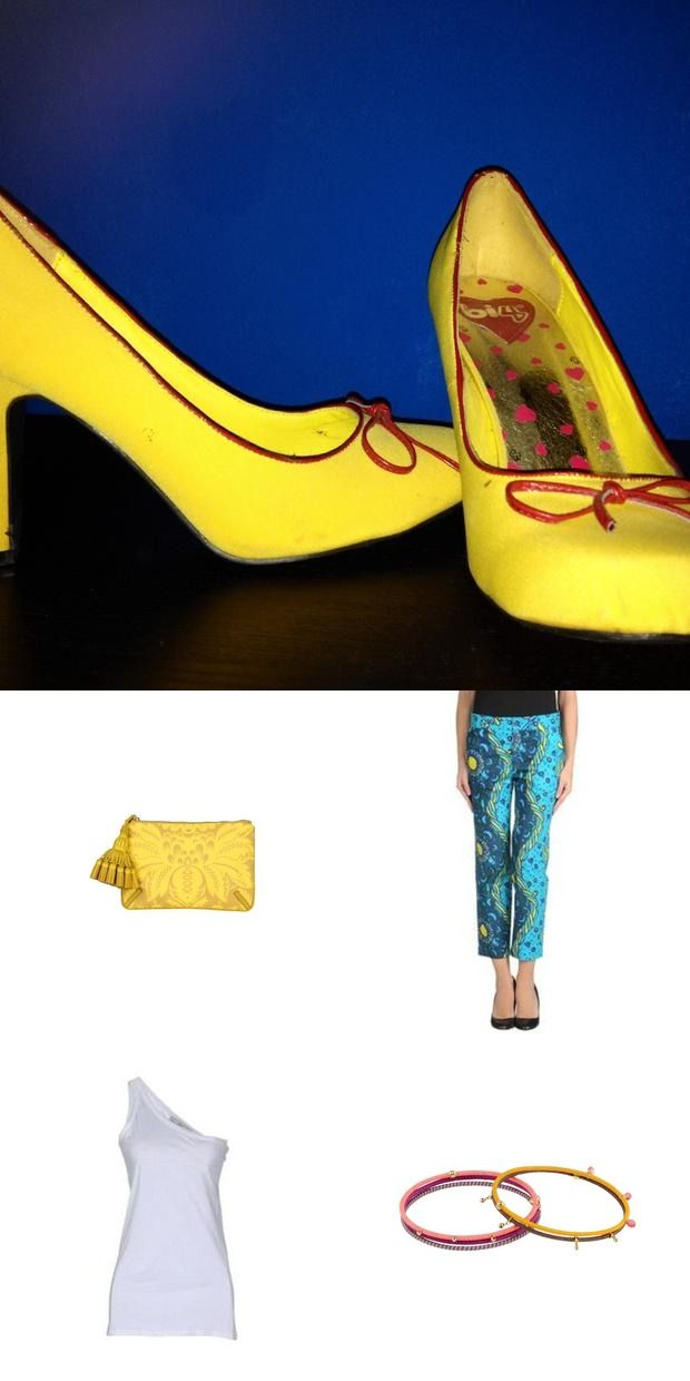 How to wear yellowshoes! -  #outfits we love - #springishere - #stellamccartney