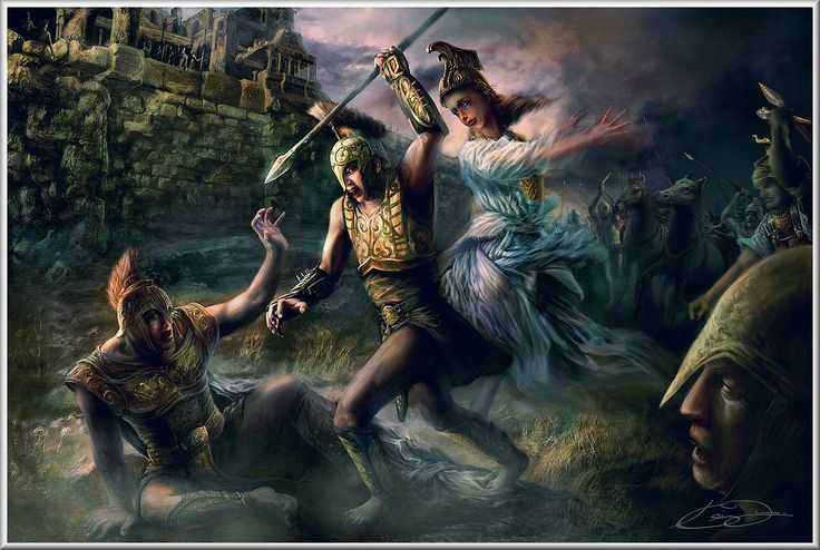 the role of the greek gods in the iliad The iliad themes from litcharts | the creators of sparknotes  the role of the gods can seem metaphorical, explaining strange changes in the moods and strength of.