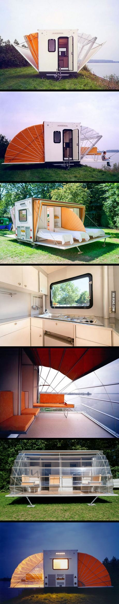 Never know camping can be this cool