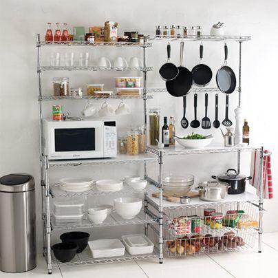 Orden practicidad y decoraci n se pueden conjugar en una for Decoracion de cocinas industriales