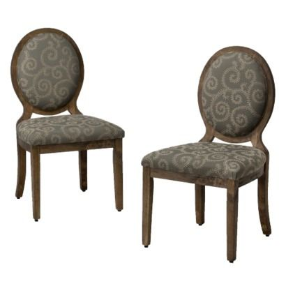 Unbelievable Price At 129 For Two Oval Back Chairs