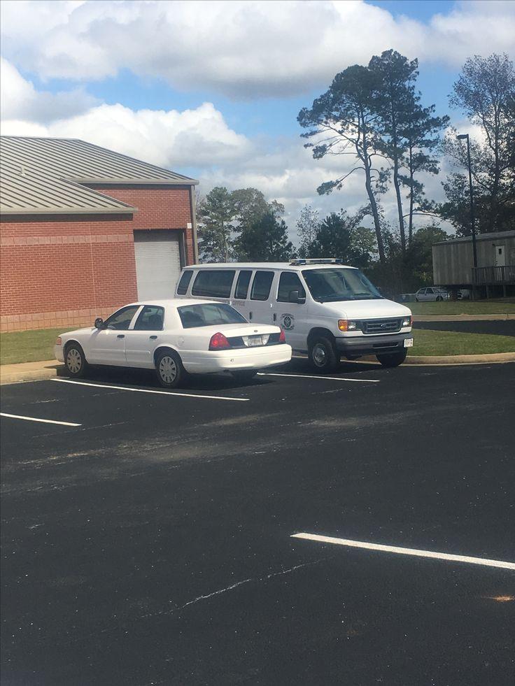 Heard County Sheriffs Department Prisoner Transport Van.