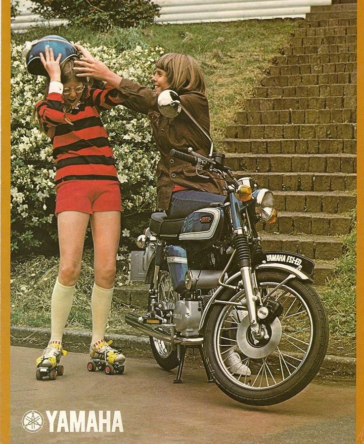 85 best art reference library 002 motorbikes images on pinterest 1975 yamaha fs1 ed cosmic blue 596 brochure fandeluxe Choice Image