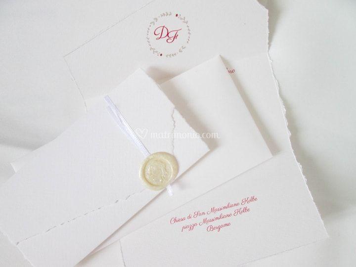 Partecipazioni Matrimonio Bianche.Partecipazioni Bergamo Partecipazioni Personalizzate Grafica