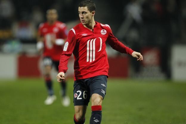 Football - Football - Eden Hazard demande de l'unité. (S.Boue/L'Equipe)