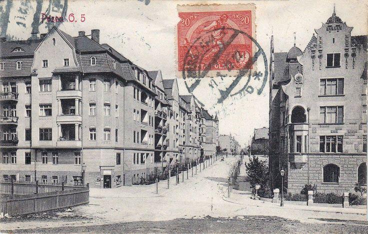 ulica #wierzbiecice w 1914 roku, #wilda, #poznan