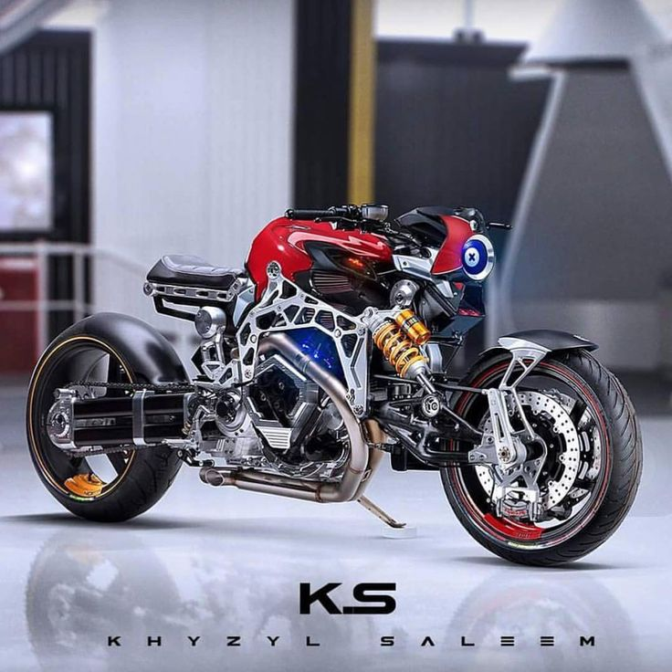 Futuristic racer concept by @the_kyza. #croig #caferacersofinstagram