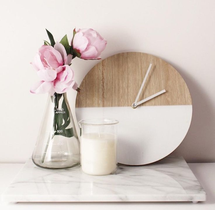 Top 20 Homewares At Kmart -White Dipped Round Clock RRP $5.00