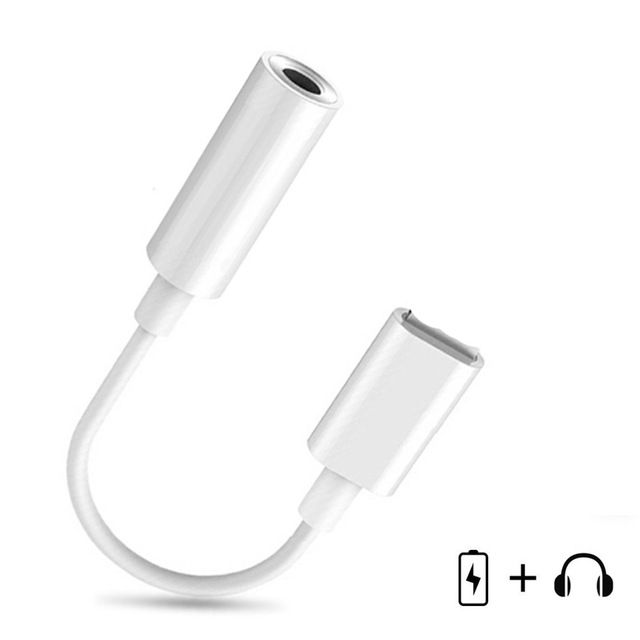 For Lightning To 3 5mm Headphone Jack Audio Cable Converter Adapter Aux For Iphone 7 X Earphone Splitter Ios 12 Male To Iphone Earphones Audio Cable Jack Audio