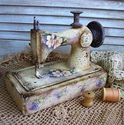 Sewing machine...