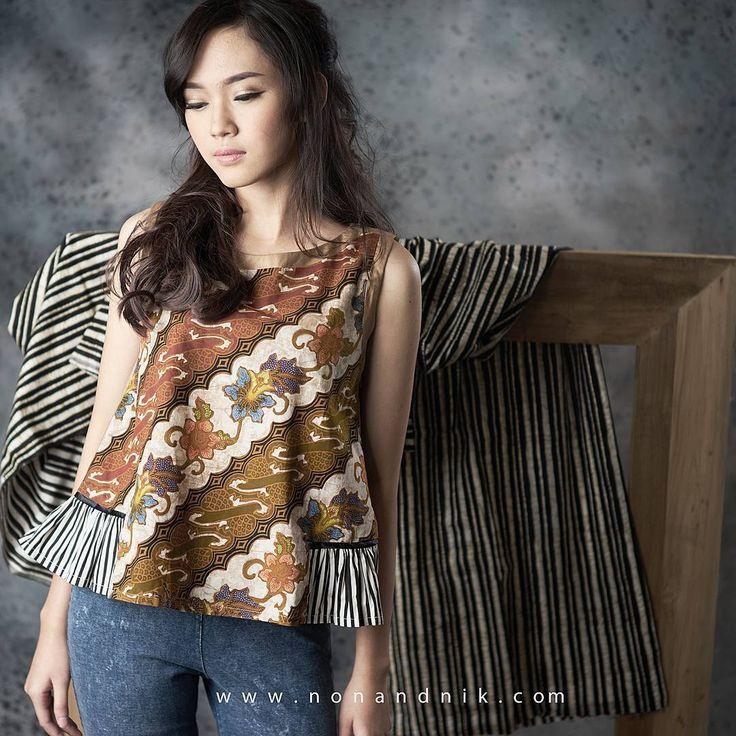 Find all our latest collection at  www.nonandnik.com  #batik #batikindonesia…