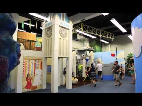 Lied Children's Discovery Museum 2nd Floor - YouTube