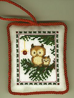 Christmas owls 1/2 Gallery.ru / Фото #146 - Всяческоее - gada#feature=topscroll