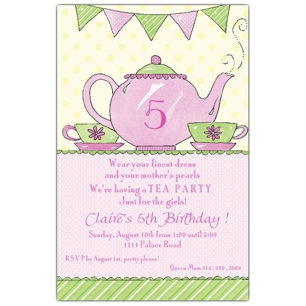 22 best images about mother's day tea party on pinterest | cupcake, Party invitations