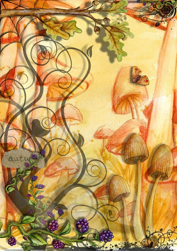My Autumn Image made using Craft Artist By JuliAnn