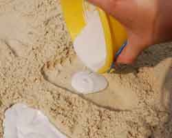 Sand cast child's feet/hands with plaster of paris. (Blog recommends doing it on vacation, but I'm going to do it in our backyard sandbox, or maybe at my daughter's favorite playground)