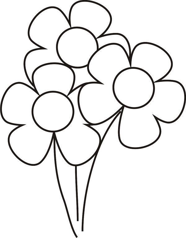 Ausmalbilder Blumen Kostenlos 198 Malvorlage Blumen t