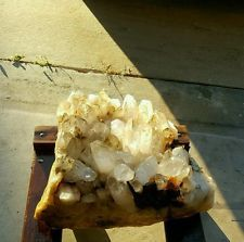 80lbs Natural Quartz Crystal Cluster Large Points Healing get it...