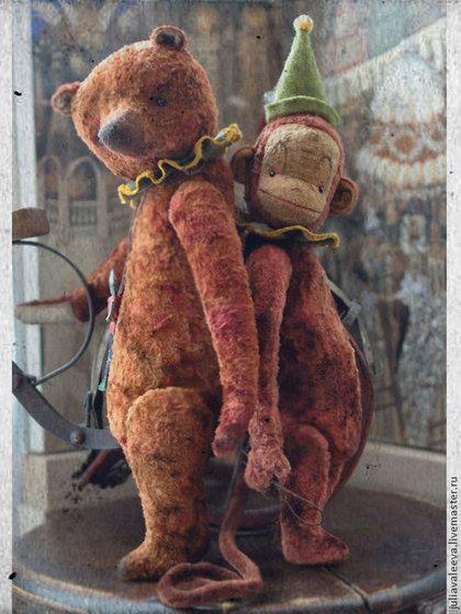 Мишки Тедди ручной работы. Ярмарка Мастеров - ручная работа Фердинанд. Handmade.