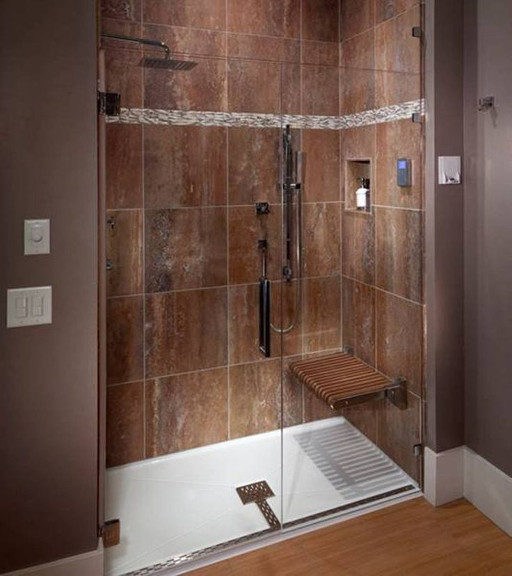 shower floorwalk in