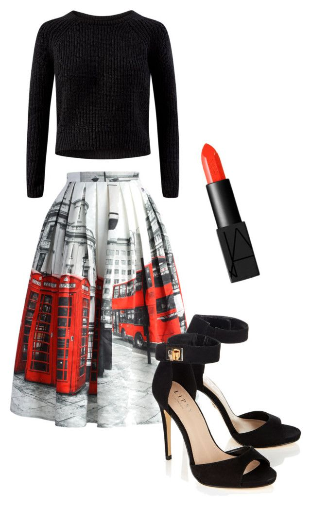 London's calling by jessmccallum0707 on Polyvore featuring polyvore, fashion, style, Chicwish, Lipsy and NARS Cosmetics