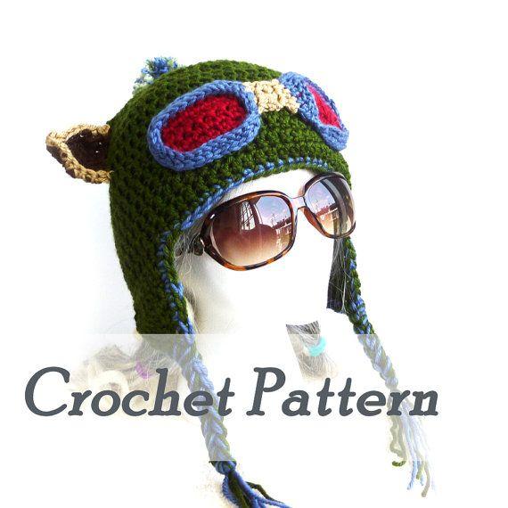 Crochet Pattern Instant Download Teemo hat Earflap hat League of Legends Scout hat Detailed Beginner Instructions Hat pattern