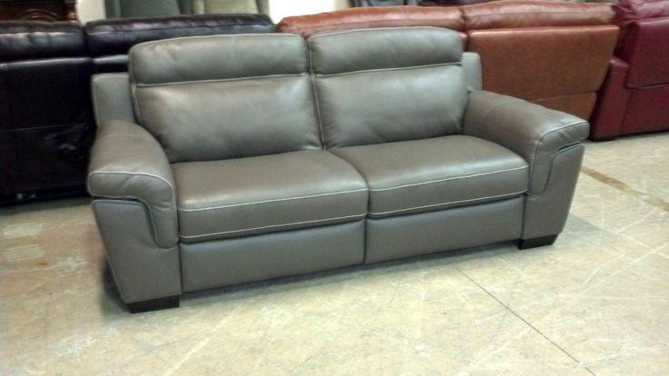 Macy S Julius Dark Taupe Electric Reclining Sofa Two