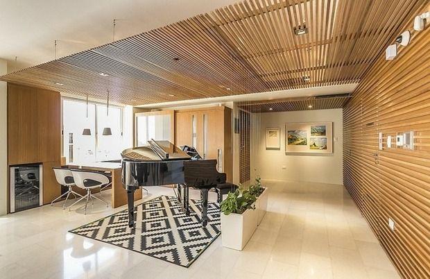 idée de déco moderne pour le plafond