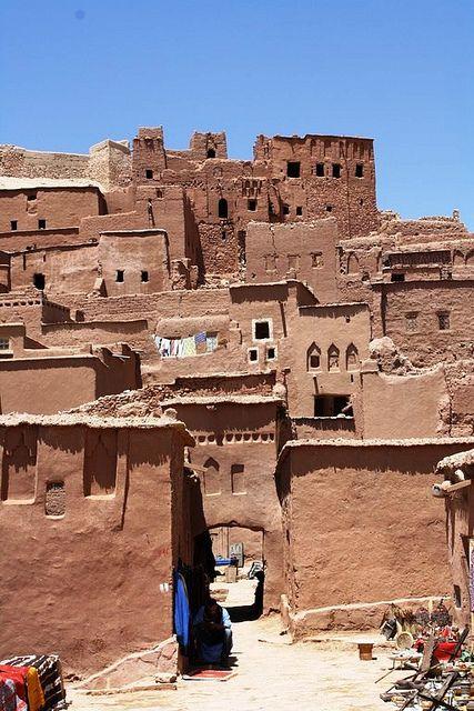 Aït Benhaddou, Ouarzazate, Morocco 2011 by debbieaspin on Flickr.