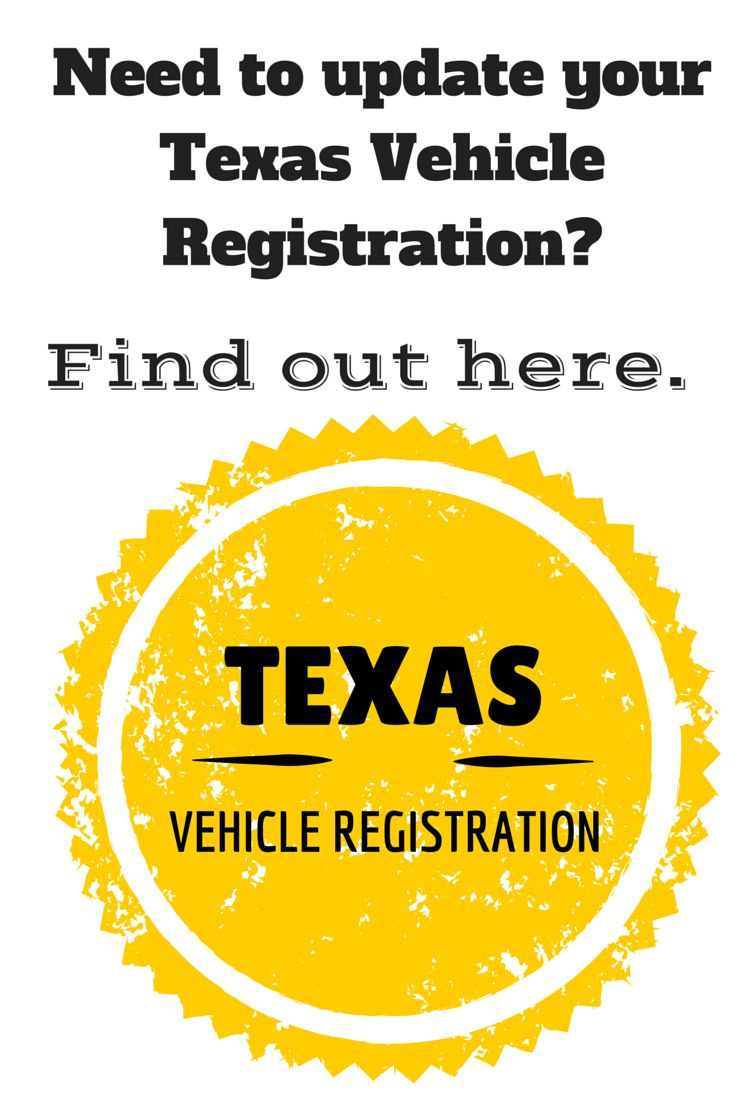 Texas Vehicle Registration-Update your address #texasvehicleregistration #movingtoTexas #SARealtor
