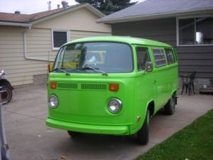 A Restored 1973 Volkswagen Bus Westfalia