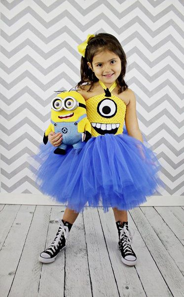 Minion Despicable Costume for Girls