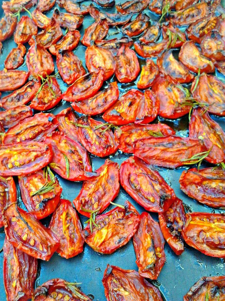 donabimby: Tomate Seco no Forno