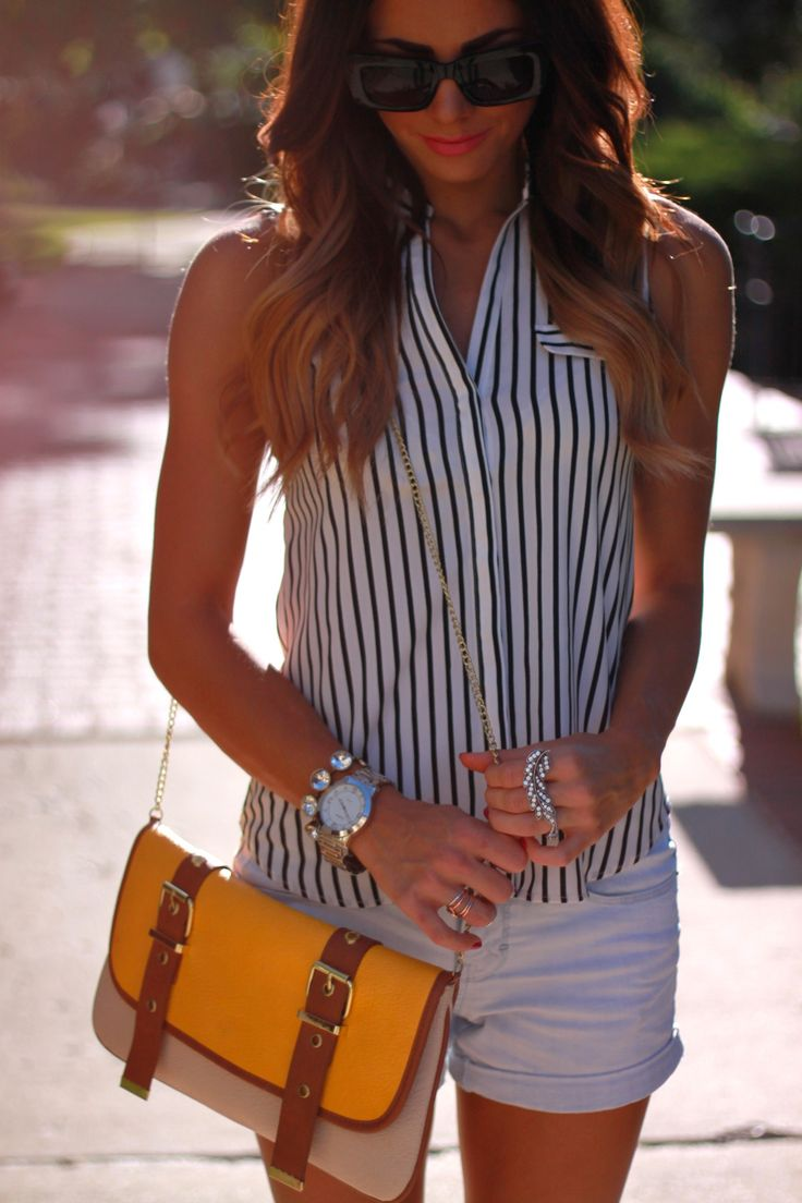 Hair** I have this Steve Madden bag and it goes with everything :)