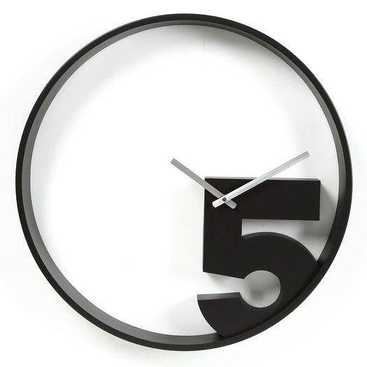 "Umbra Take 5 20.5"" Wall Clock"
