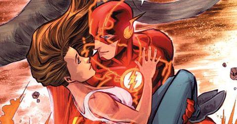 Barry Allen and Iris West.❤️