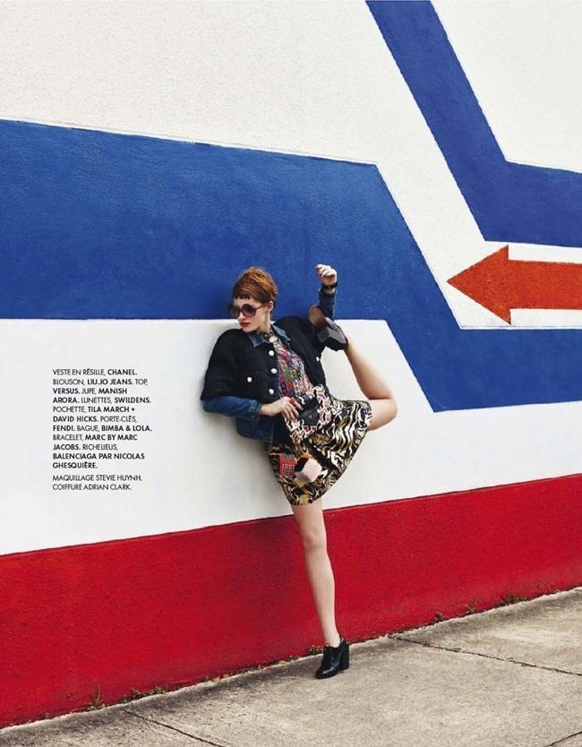 Ed.  Manga Girl para  Elle France Fotografia: Morris  Styling: Tamara Taichman Modelo: Asia Piwka