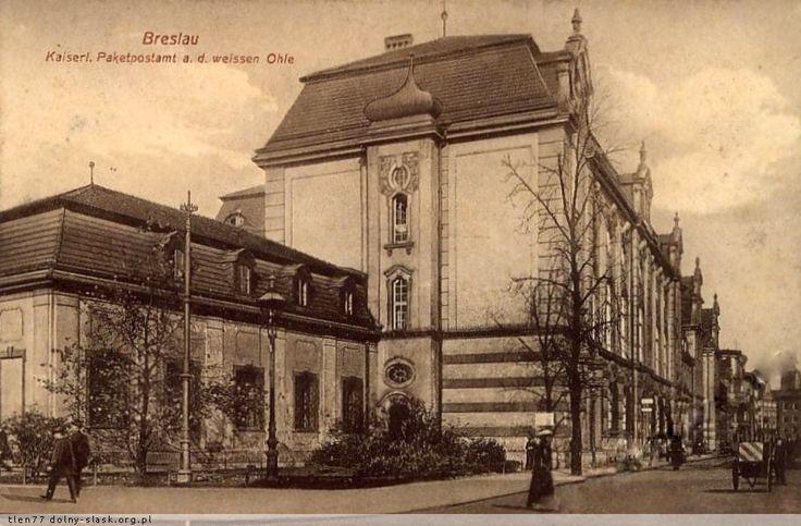 Dawna Poczta Paczkowa przy ul. Janickiego Lata 1900-1910