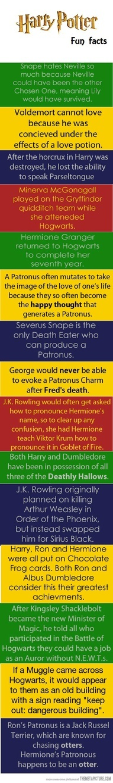 Harry Porter Fun Facts