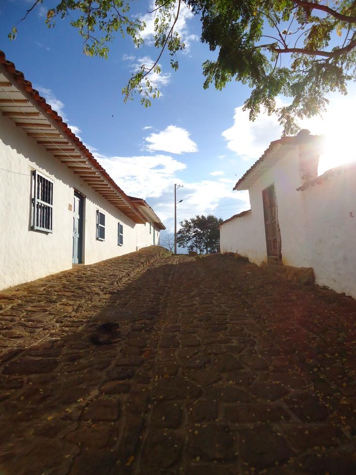 Calles de Barichara, Santander - Colombia