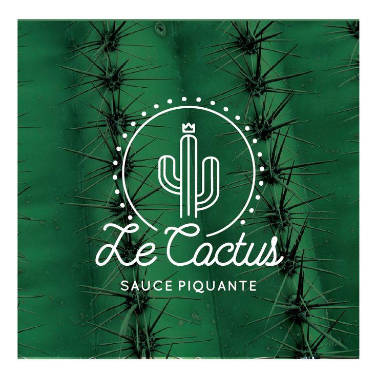 logo pour sauce piquante - Le Cactus