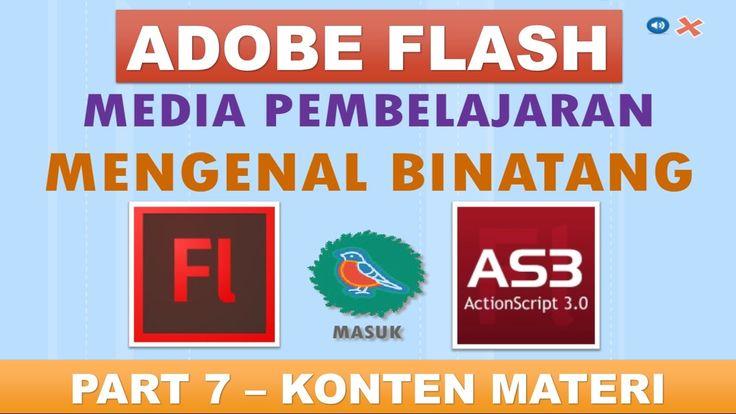 Membuat Media Pembelajaran Interaktif Adobe Flash Actionscript 3 - Part ...