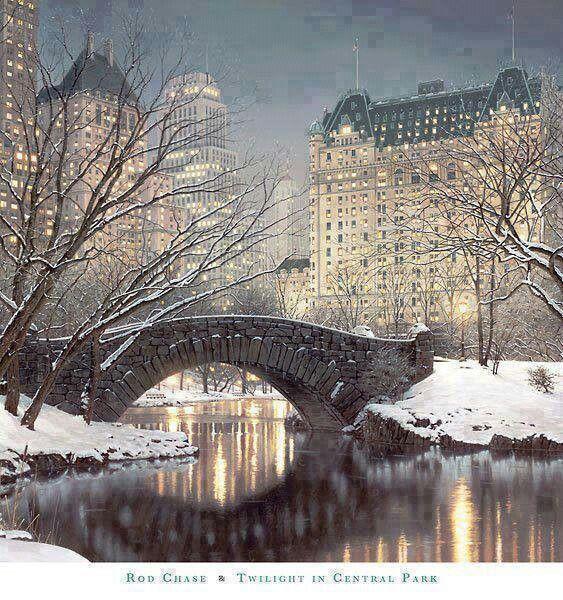 Central Park, NYC! Gelukkig hadden we geen sneeuw! Het was heerlijk weer, zonnetje, bankje, heerlijk romantisch zoals het hoort te zijn :-)