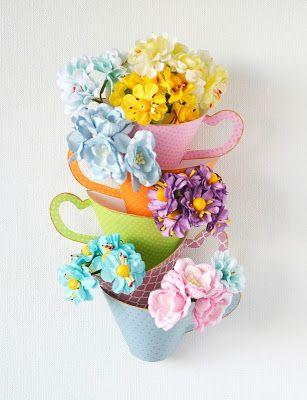 АРТ-КЛАДОВАЯ: Практичный декор для хранения цветов от Инны Бронн...
