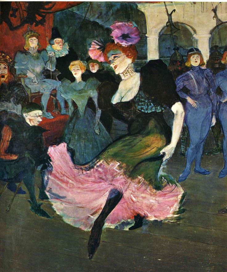 Marcelle Lender Dancing The Bolero in Chilperic, 1895 // Henri Toulouse Lautrec