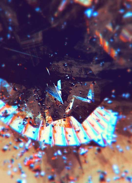 Shattered Glass Photography  Atelier Olschinsky Reveals the Beauty in Fragmentation