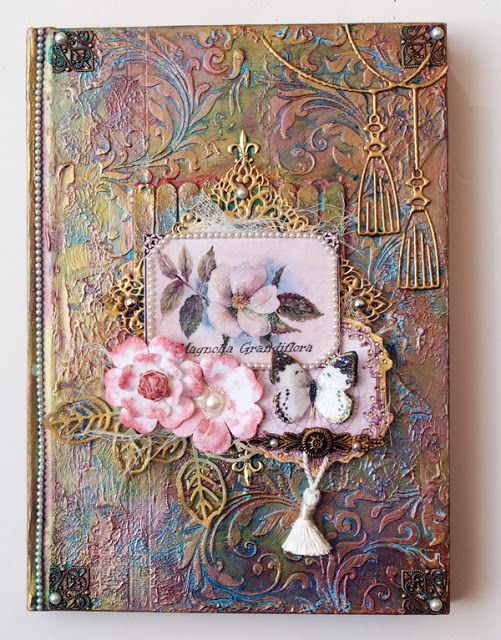 Couture Creations: Altered Book by Sue Smyth
