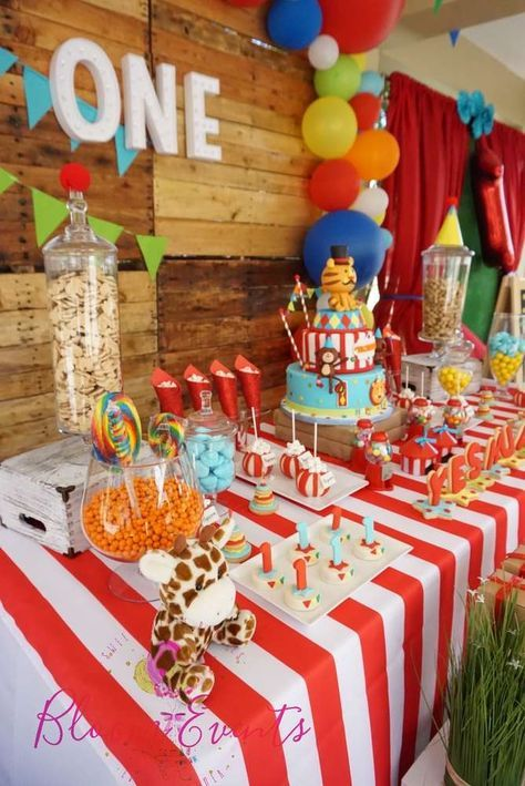 Circus / Carnival Birthday Party Ideas | Photo 4 of 8